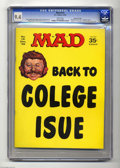 Magazines:Mad, Mad #131 Gaines File pedigree (EC, 1969) CGC NM 9.4 White pages.Jack Davis, Mort Drucker, and Angelo Torres art. Ronald Rea...