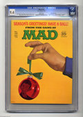 Magazines:Mad, Mad #132 Gaines File pedigree (EC, 1970) CGC NM 9.4 White pages. Jack Davis, Mort Drucker, and Angelo Torres art. Christmas ...