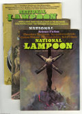 Magazines:Humor, National Lampoon Bronze Age Group (National Lampoon, 1970-75)Condition: Average FN. This group includes the following issue...(Total: 10 Comic Books Item)