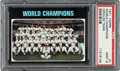 Baseball Cards:Singles (1970-Now), 1971 Topps World Champions #1 PSA Mint 9 - None Higher....