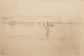 Works on Paper, James Abbott McNeill Whistler (American, 1834-1903). Long Lagoon, 1886 or 1887. Etching and drypoint on cream laid paper...