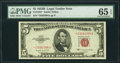 Small Size:Legal Tender Notes, Fr. 1534* $5 1953B Legal Tender Star Note. PMG Gem Uncirculated 65 EPQ.. ...