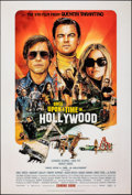 """Movie Posters:Drama, Once Upon a Time in...Hollywood (Columbia, 2019). Rolled, Near Mint. One Sheet (27"""" X 40""""). DS, Advance, Steve Chorney Artwo..."""