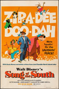 "Movie Posters:Animation, Song of the South (Buena Vista, R-1973). Folded, Very Fine-. One Sheet (27"" X 41""). Animation.. ..."