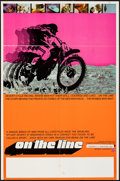 "Movie Posters:Documentary, On the Line & Other Lot (Interwest Film Corp., 1972). Folded, Fine/Very Fine. Poster (23"" X 35"") & One Sheet (27"" X 14""). Do... (Total: 2 Items)"