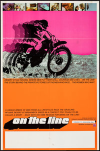 """On the Line & Other Lot (Interwest Film Corp., 1972). Folded, Fine/Very Fine. Poster (23"""" X 35"""") & One..."""