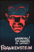 Movie Posters:Horror, Frankenstein by Speranta Popper (S2 Art Group, 2000). Rolled, Very Fine/Near Mint. Numbered Limited Edition Reproduction Pos...