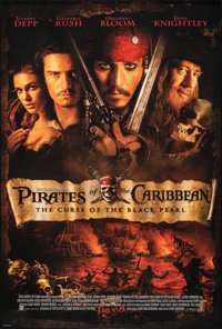 Pirates of the Caribbean: The Curse Of The Black Pearl (Buena Vista, 2003). Rolled, Very Fine/Near Mint. One Sheet (27&q...