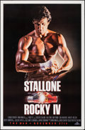 """Movie Posters:Sports, Rocky IV (MGM/UA, 1985). Rolled, Very Fine-. One Sheet (27"""" X 41"""") SS Advance. Sports.. ..."""