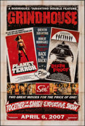 """Movie Posters:Action, Grindhouse (Dimension, 2007). Rolled, Very Fine/Near Mint. One Sheet (27"""" X 40"""") DS Advance. Action.. ..."""