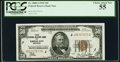 Fr. 1880-J $50 1929 Federal Reserve Bank Note. PCGS Choice About New 55