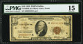 Fr. 1860-K $10 1929 Federal Reserve Bank Note. PMG Choice Fine 15