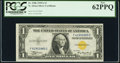 Fr. 2306 $1 1935A North Africa Silver Certificate. F-C Block. PCGS New 62PPQ
