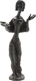 Sculpture, Apeles Fenosa (Spanish, 1899-1988). Femme. Bronze. 41-3/4 x 18 x 18 inches (106.0 x 45.7 x 45.7 cm). Incised to base F...