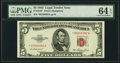 Small Size:Legal Tender Notes, Fr. 1532* $5 1953 Legal Tender Star Note. PMG Choice Uncirculated 64 EPQ.. ...
