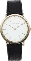 Timepieces:Wristwatch, Audemars Piguet Gent's 18k White Gold Wristwatch, circa 1960. ...
