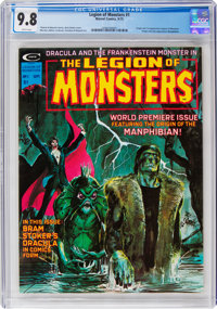 Legion of Monsters #1 (Marvel, 1975) CGC NM/MT 9.8 White pages