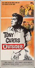 "Movie Posters:War, The Outsider & Other Lot (Universal, 1962). Folded, Overall: Fine/Very Fine. Three Sheets (2) (41"" X 79"", 41"" X78.5). War.. ... (Total: 2 Items)"