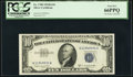 Small Size:Silver Certificates, Fr. 1708 $10 1953B Silver Certificate. PCGS Gem New 66PPQ.. ...
