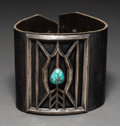 American Indian Art:Jewelry and Silverwork, A Navajo Bow Guard, Ketoh...