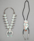 American Indian Art:Jewelry and Silverwork, Two Southwest Jewelry Items... (Total: 2 )