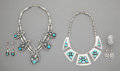 American Indian Art:Jewelry and Silverwork, Five Southwest Jewelry Items... (Total: 5 )