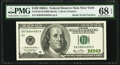Small Size:Federal Reserve Notes, Radar Serial Number 58844885 Fr. 2182-B $100 2006A Federal Reserve Note. PMG Superb Gem Unc 68 EPQ.. ...