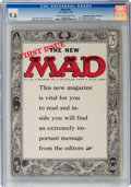 Magazines:Mad, MAD #24 Don/Maggie Thompson Collection (EC, 1955) CGC NM+ 9.6 Cream to off-white pages....