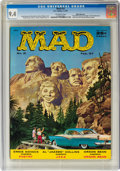Magazines:Mad, MAD #31 White Mountain Pedigree (EC, 1957) CGC NM 9.4 Off-white pages....