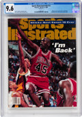 Magazines:Sports, Sports Illustrated V82#12 (Time Inc., 1995) CGC NM+ 9.6 White pages....