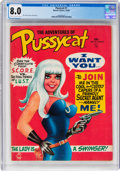 Magazines:Miscellaneous, Pussycat #1 (Marvel, 1968) CGC VF 8.0 Cream to off-white pages....
