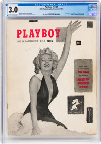 Playboy #1 (HMH Publishing, 1953) CGC GD/VG 3.0 Off-white to white pages