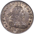 Early Dimes, 1803 10C JR-2, R.6, AU53 PCGS. CAC....