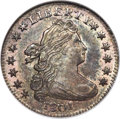 Early Dimes, 1801 10C JR-1, R.4, MS65 NGC. CAC....