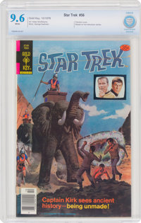 Star Trek #56 (Gold Key, 1978) CBCS NM+ 9.6 White pages