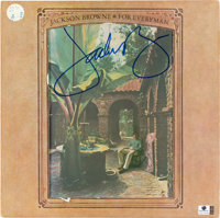 Jackson Browne Signed For Everyman Vinyl LP (Asylum, SD 5067)