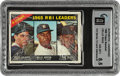 Baseball Cards:Unopened Packs/Display Boxes, 1966 Topps Baseball (3rd Series-12 card) Cello Pack PSA NM-MT+ 8.5 - Jenkins Rookie Series. ...