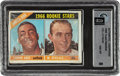 Baseball Cards:Unopened Packs/Display Boxes, 1966 Topps Baseball (2nd Series) Cello Pack GAI NM-MT 8 - Koufax & Palmer Rookie Series. ...