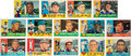 Autographs:Sports Cards, Signed 1960 Topps Baseball Hall of Famers Card Collection (14). ...