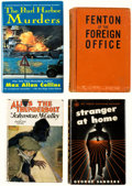 Books:General, Crime/Detective Novels Hardcover Editions Group of 20 (Various, 1927-2001).... (Total: 20 Items)
