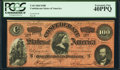Confederate Notes:1864 Issues, T65 $100 1864 PF-3 Cr. 494 PCGS Extremely Fine 40PPQ.. ...