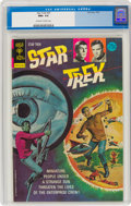 Bronze Age (1970-1979):Science Fiction, Star Trek #25 (Gold Key, 1974) CGC NM+ 9.6 Off-white to white pages....