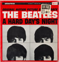Music Memorabilia:Recordings, The Beatles A Hard Day's Night Stereo Vinyl LP Still Sealed With Original Price Sticker (United Artists, UAS 6366, 1960's)....