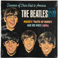 The Beatles Souvenir of Their Visit to America 7-Inch Four Track EP Sealed (VJEP 1-903)<