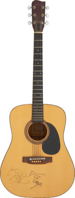 The Everly Brothers Signed Acoustic Guitar