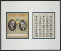 Autographs:Photos, 1926 New York Yankees Team Signed Display. Display...