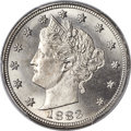 Liberty Nickels, 1883 5C With Cents MS67 PCGS....