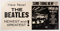 "The Beatles Original ""Something New"" Linen Backed Promo Poster (Capitol Records,1964)"