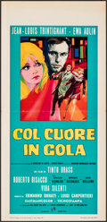 """Movie Posters:Foreign, I Am What I Am & Other Lot (Rank, 1967). Folded, Very Fine-. Italian Locandinas (2) (13"""" X 27.5""""). Foreign.. ... (Total: 2 Items)"""
