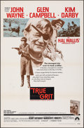 "Movie Posters:Western, True Grit (Paramount, 1969). Folded, Very Fine. International One Sheet (27"" X 41""). Western.. ..."